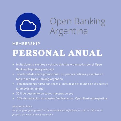 Open Banking membership personal
